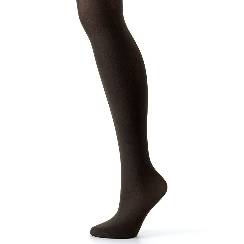 Hanes Silk Reflections Control-Top Opaque Tights