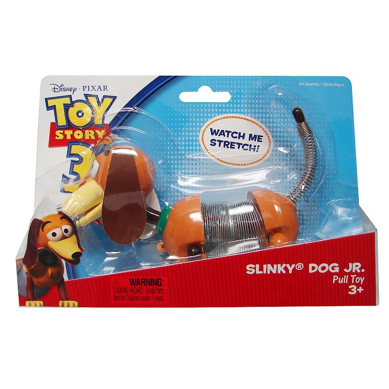 Disney / Pixar Toy Story Slinky Dog Jr. Pull Toy by Slinky, Multicolor
