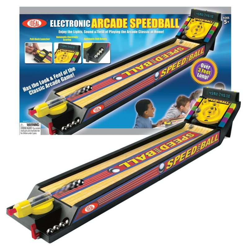 Ideal Electronic Arcade Speedball Game, Multicolor