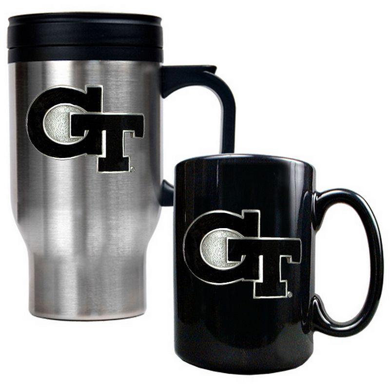 Georgia Tech Yellow Jackets 2-pc. Travel Mug Set
