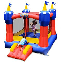 Blast Zone Magic Castle Inflatable Bounce House by
