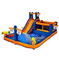 Blast Zone Pirate's Bay Inflatable Amusement Park by