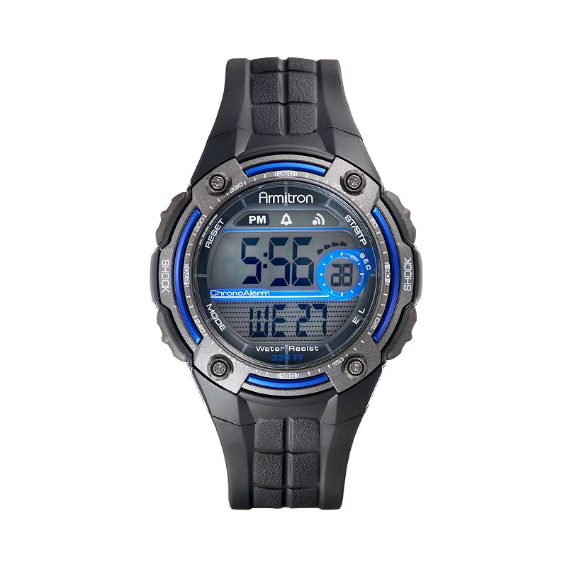 Armitron Men's Digital Chronograph Watch - 40/8189BLU