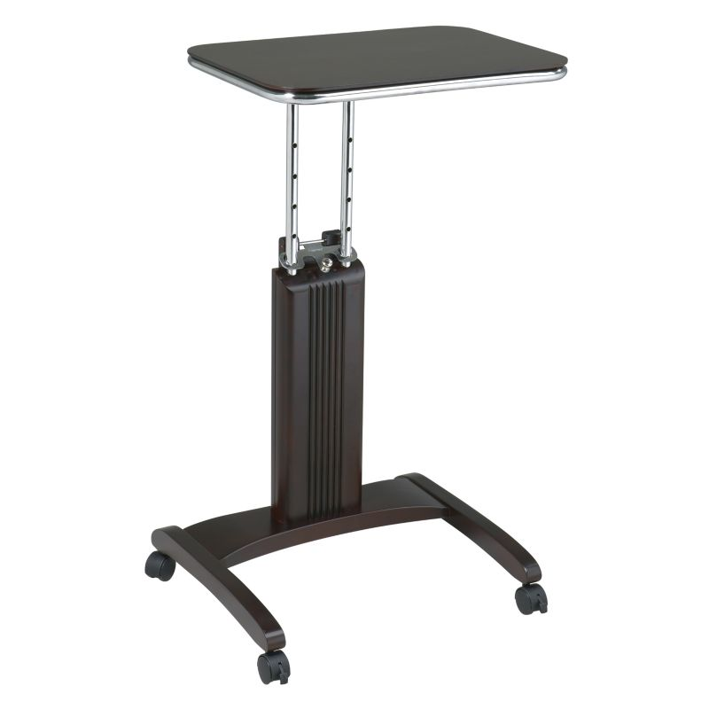 Office Star Products Precision Adjustable Laptop Stand, Brown