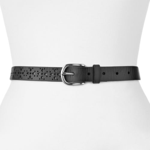 SONOMA life + style® Perforated Leather Belt