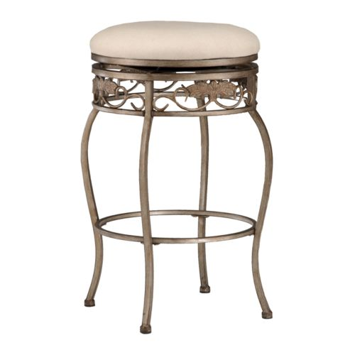 Bordeaux Backless Swivel Counter Stool
