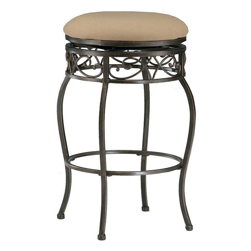 Lincoln Backless Swivel Bar Stool