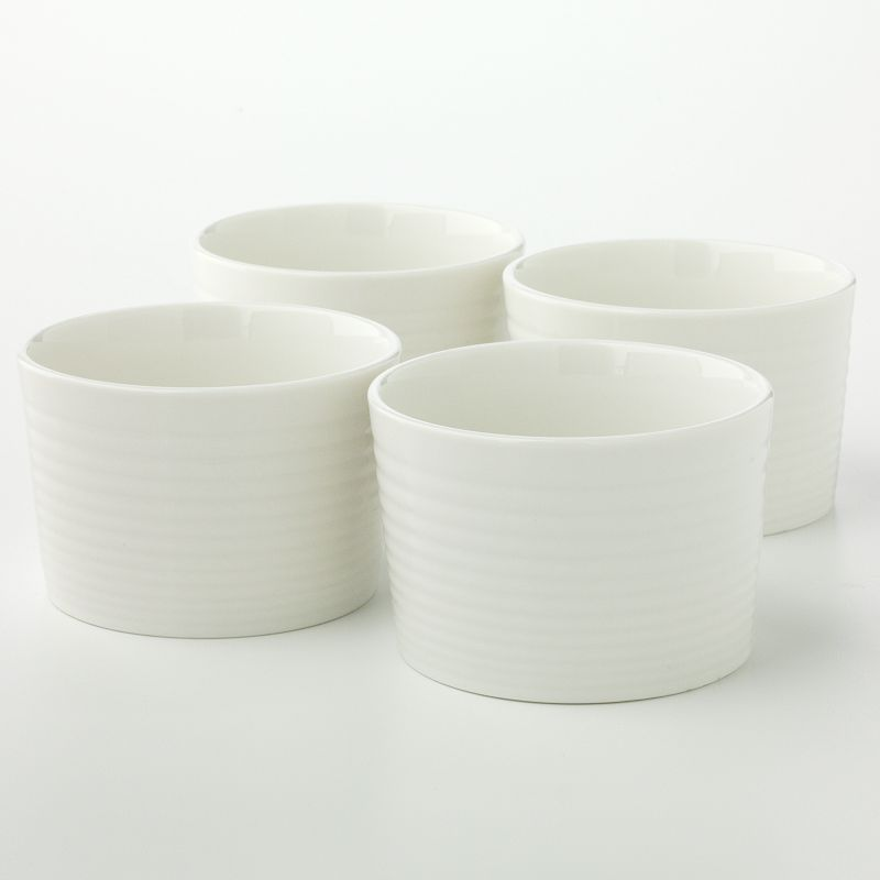 Royal Doulton Gordon Ramsay Taupe Maze 4-pc. Ramekin Set