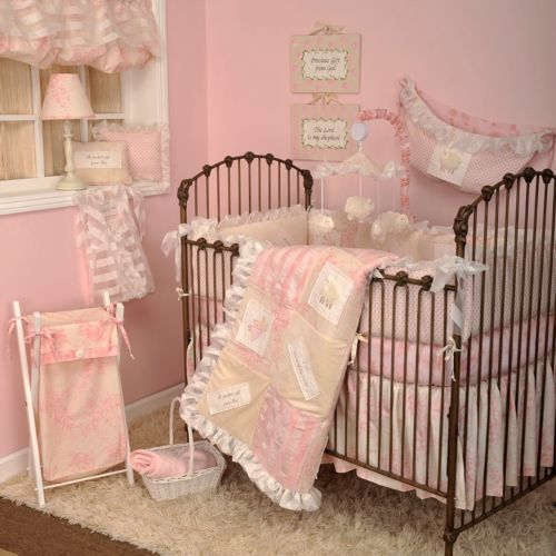 Cotton Tale 4-pc. Heaven Sent Girl Crib Bedding Set