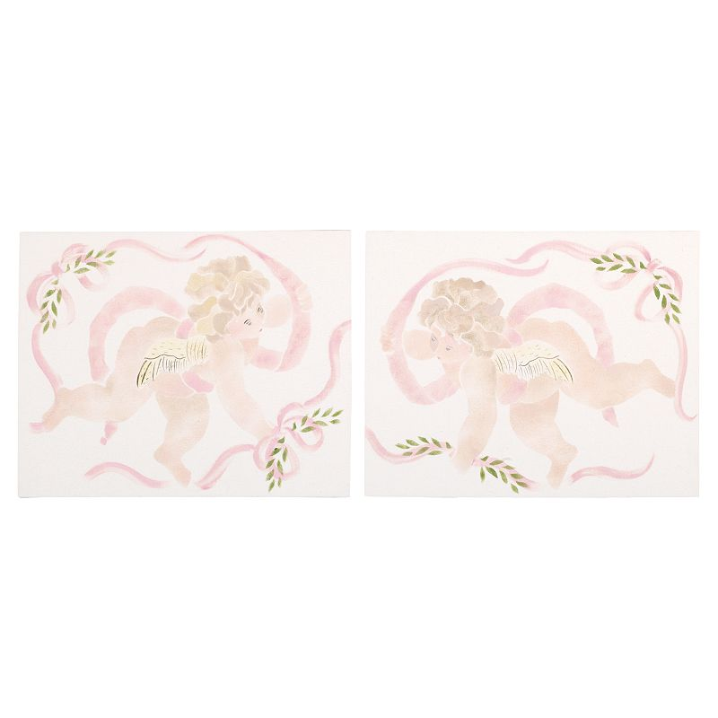 Cotton Tale 2-pc. Lollipops and Roses Wall Art Set