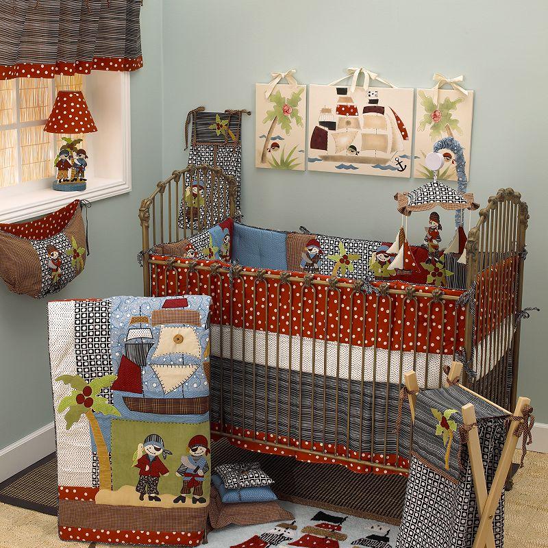 Cotton Tale 4-pc. Pirates Cove Crib Bedding Set