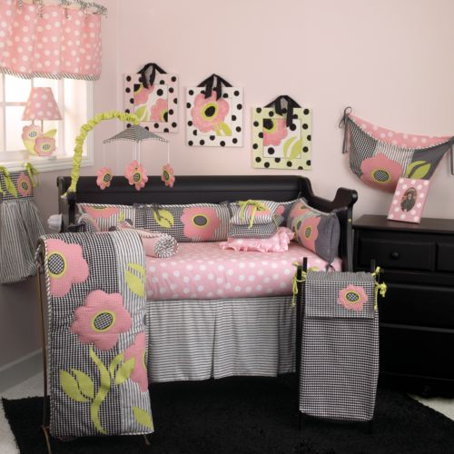 Cotton Tale 4-pc. Poppy Crib Bedding Set