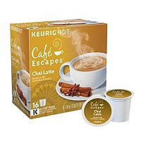 Keurig® K-Cup® Pod Cafe Escapes Chai Latte - 16-pk.