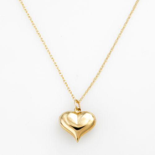 10k Gold Heart Pendant
