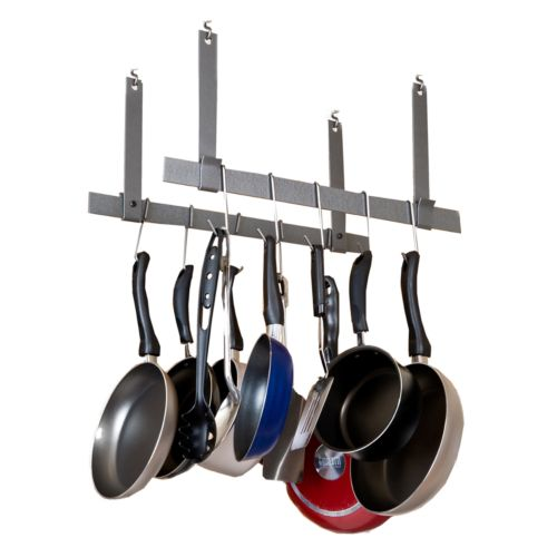 RACK IT UP! Ceiling Bar Pot Rack Set