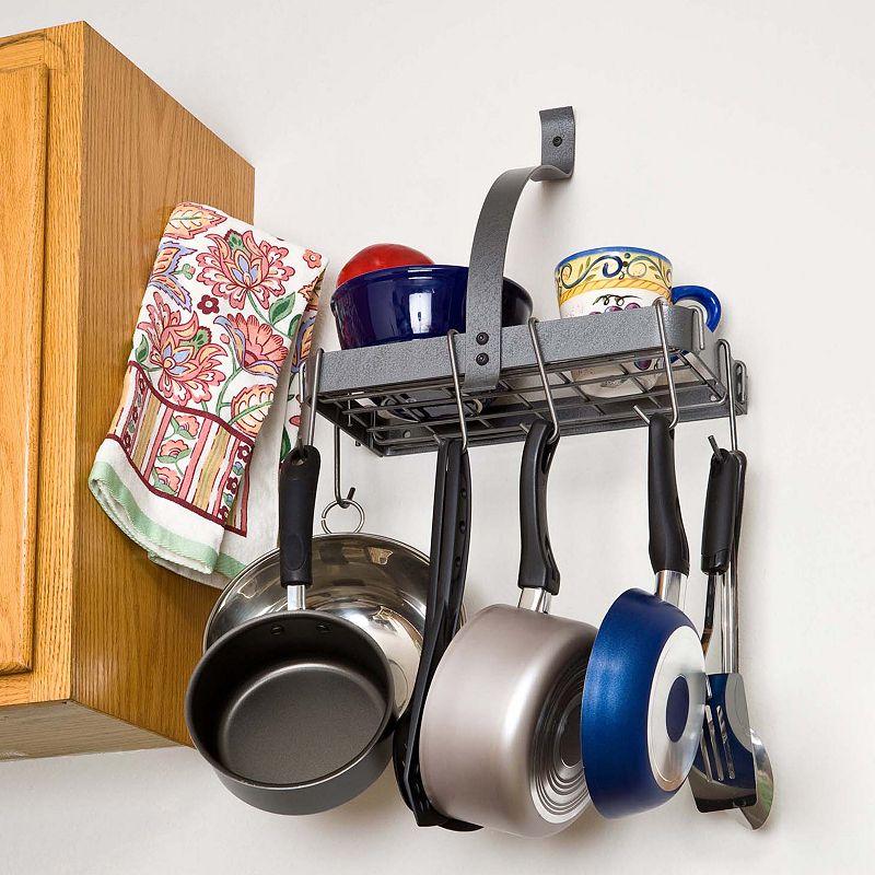 RACK IT UP! Accessory Shelf Pot Rack
