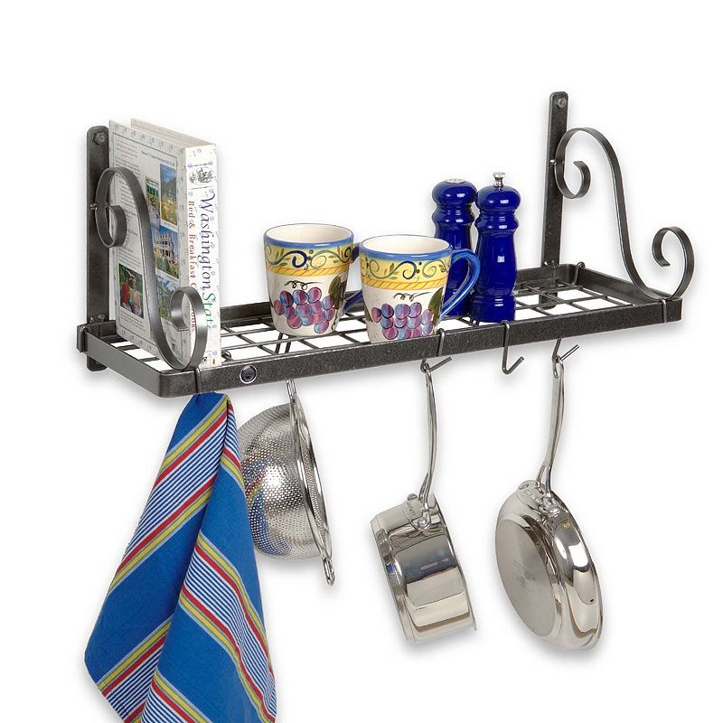 Enclume® Decor Wall Scroll Rack : Kitchen wall mount rack kohl s