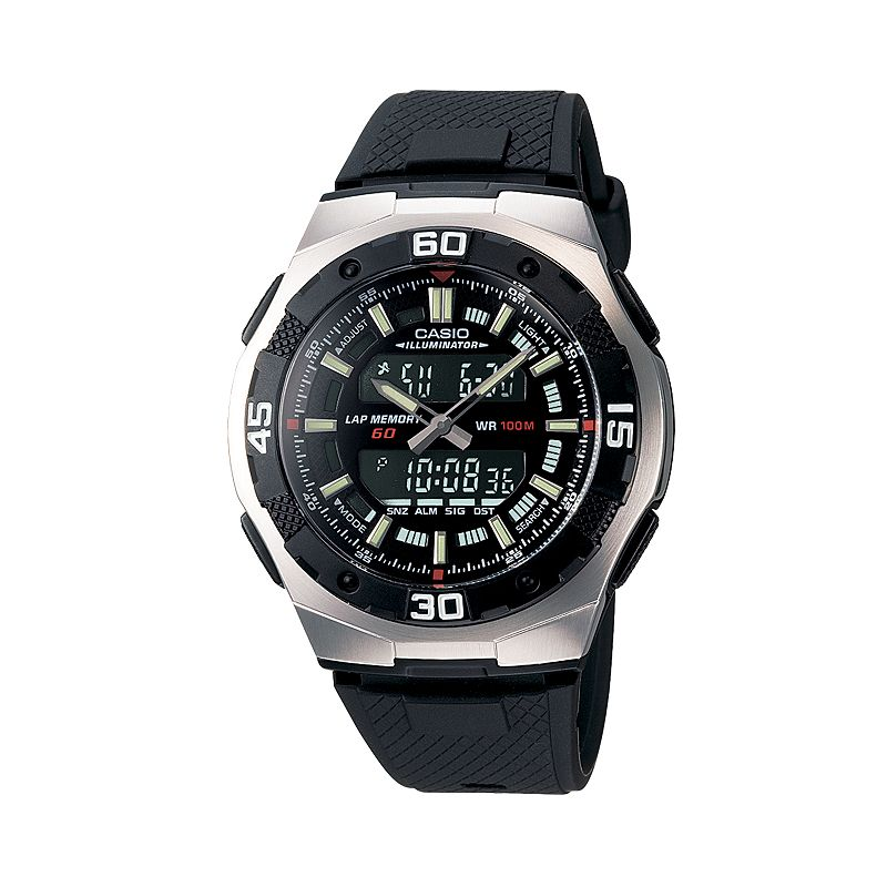 Casio Men's Analog & Digital Chronograph Watch - AQ164W-1AV