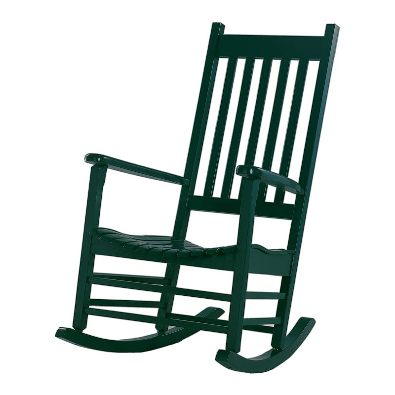 Classic Black Porch Rocking Chair - Outdoor