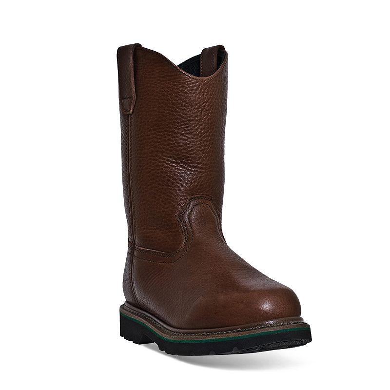 John Deere Men's Slip-Resistant Wellington Work Boots