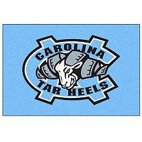 FANMATS North Carolina Tar Heels Logo Rug