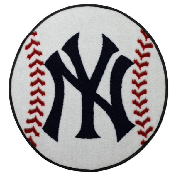 FANMATS New York Yankees Baseball Rug
