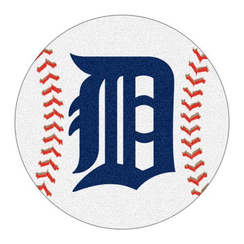 FANMATS Detroit Tigers Rug