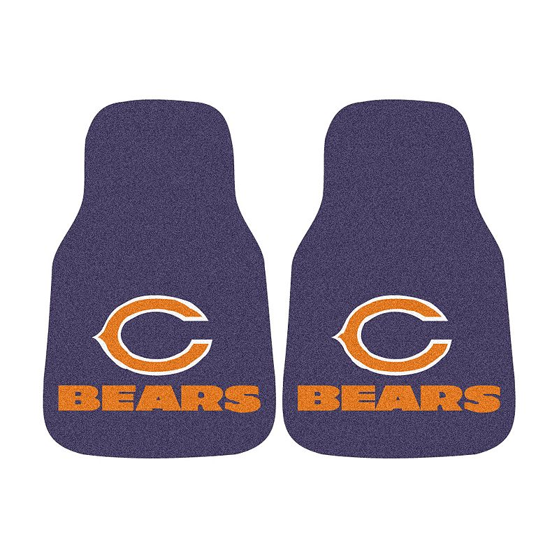 FANMATS 2-pk. Chicago Bears Car Floor Mats