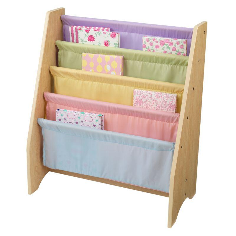White Sling Bookcase: KidKraft Sling Bookshelf