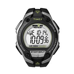 Timex Men's Ironman 30-Lap Digital Chronograph Watch T5K412