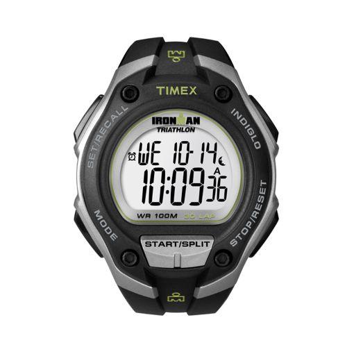 Timex Watch - Men's Ironman 30-Lap Oversize Resin Digital Chronograph - T5K412