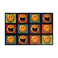 Fun Rugs™ Smiley World Happy & Smiling Rug - 3'3'' x 4'10''