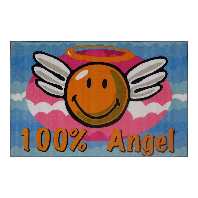 Fun Rugs Smiley World Smiley Angel Rug - 3'3'' x 4'10''