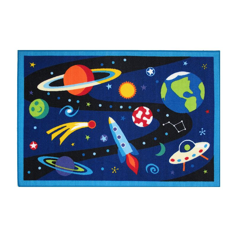 Fun Rugs Olive Kids Out Of This World Rug - 19'' x 29''