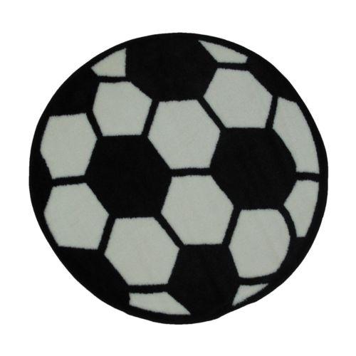 Fun Rugs Fun Time Soccerball Rug