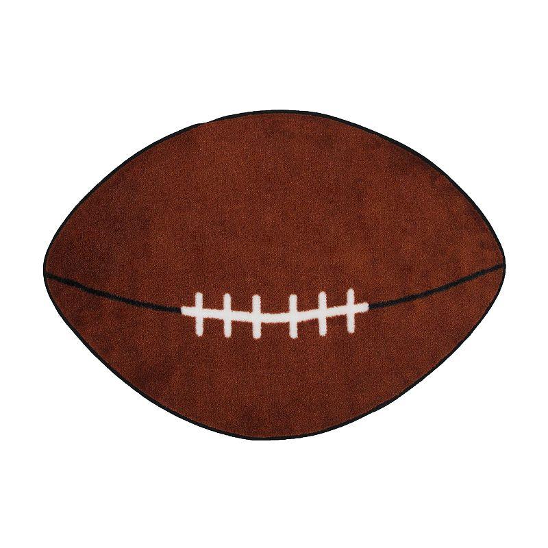 Fun Rugs Fun Time Football Rug