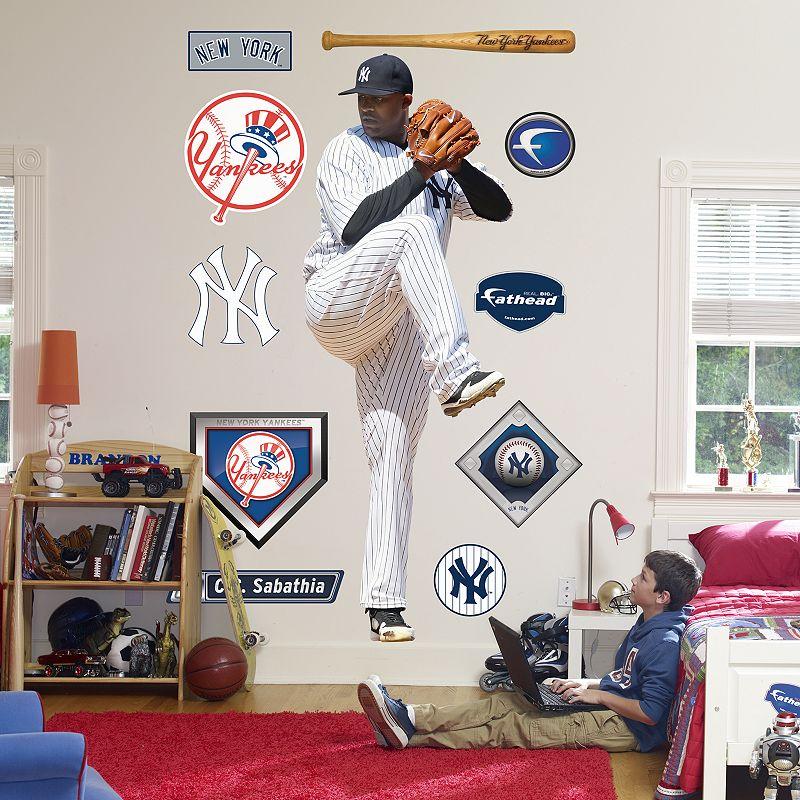 Fathead New York Yankees C.C. Sabathia Wall Decal
