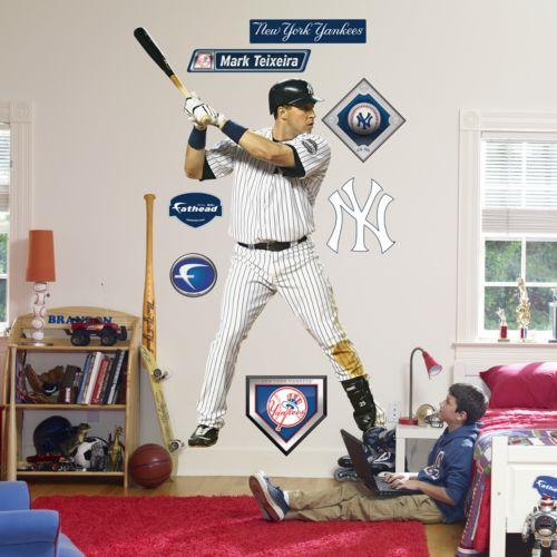 Fathead New York Yankees Mark Teixeira Wall Decal