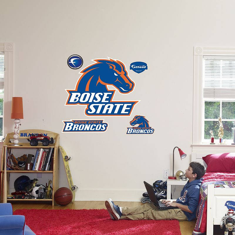 Fathead Boise State Broncos Logo Wall Decal
