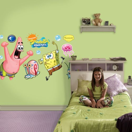 SpongeBob SquarePants and Patrick Wall Decals by Fathead