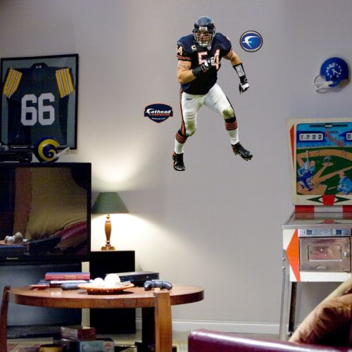 Fathead Junior Chicago Bears Brian Urlacher Wall Decal