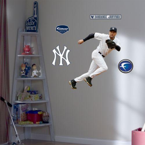 Fathead Junior New York Yankees Derek Jeter Wall Decal