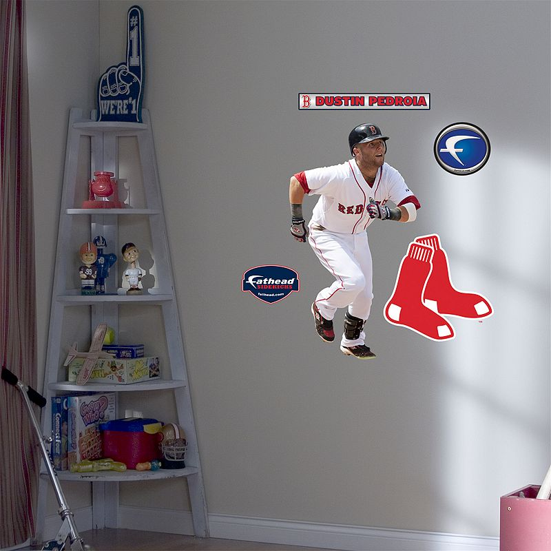 Fathead Junior Boston Red Sox Dustin Pedroia Wall Decal