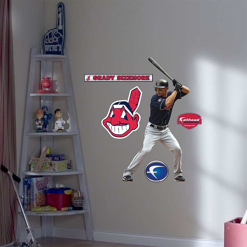 Fathead Junior Cleveland Indians Grady Sizemore Wall Decal