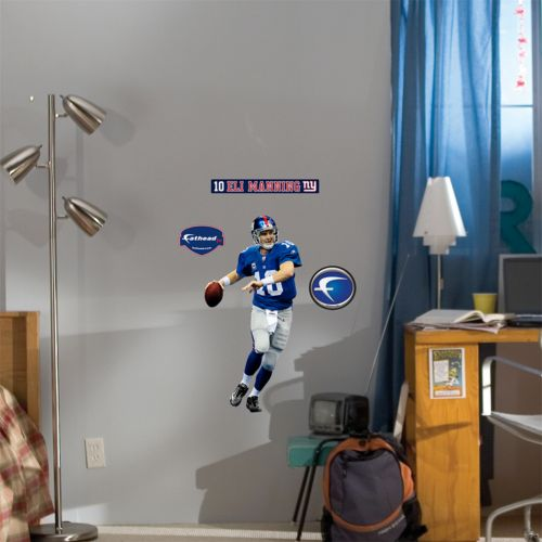 Fathead Junior New York Giants Eli Manning Wall Decal