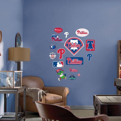 Fathead Junior Philadelphia Phillies Logo Wall Decals