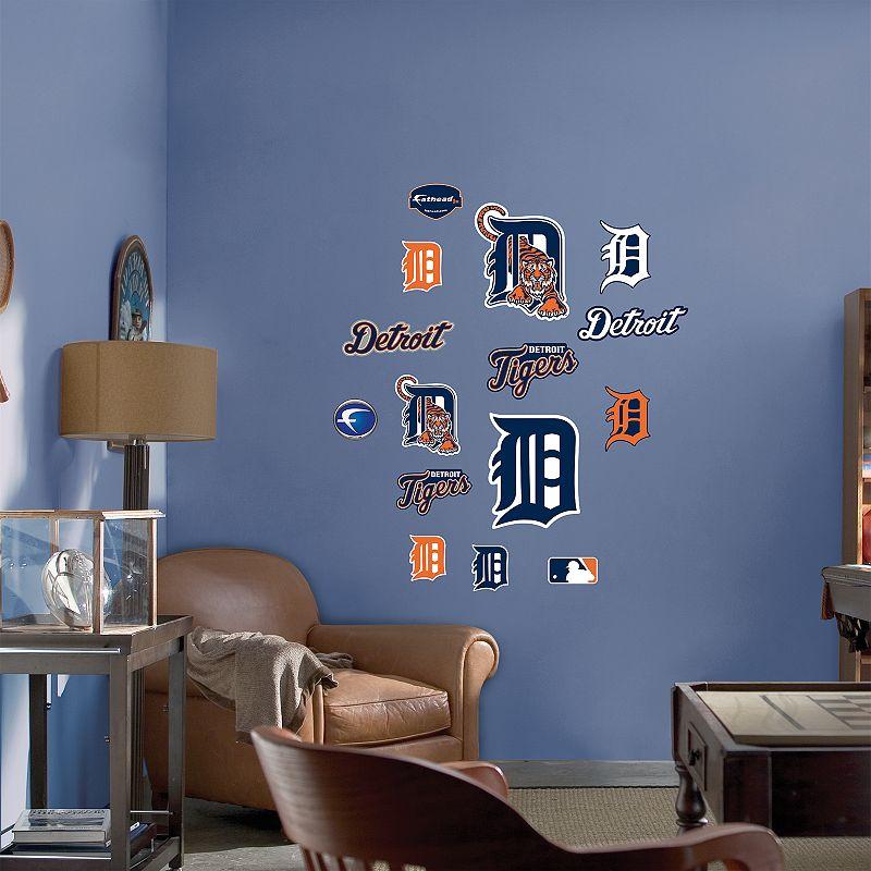 Fathead Junior Detroit Tigers Logo Wall Decals