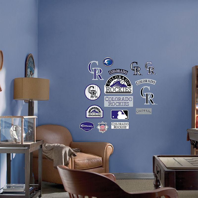 Fathead Junior Colorado Rockies Logo Wall Decals