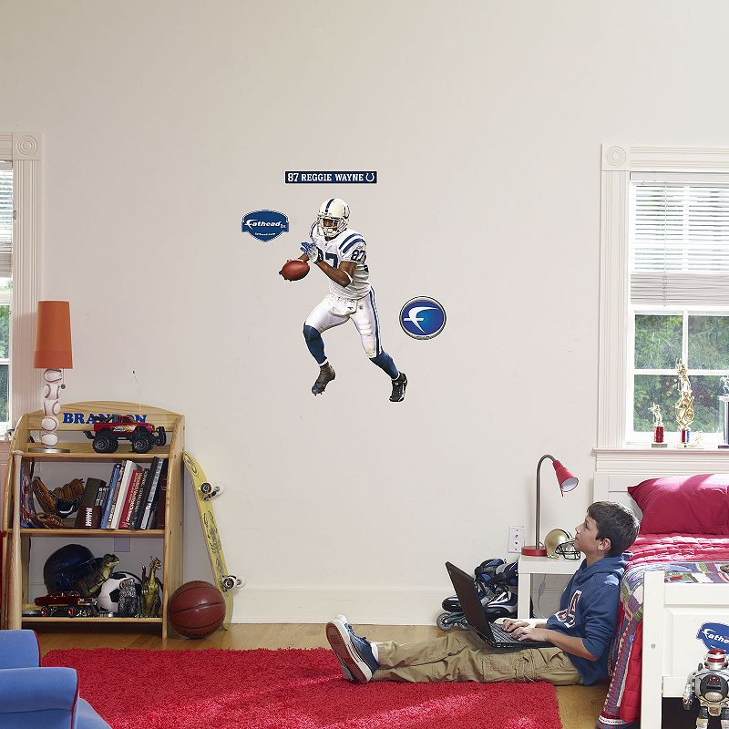 Fathead Junior Indianapolis Colts Reggie Wayne Wall Decal