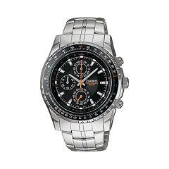 Casio Men's Stainless Steel Chronograph Watch MTP4500D-1AV